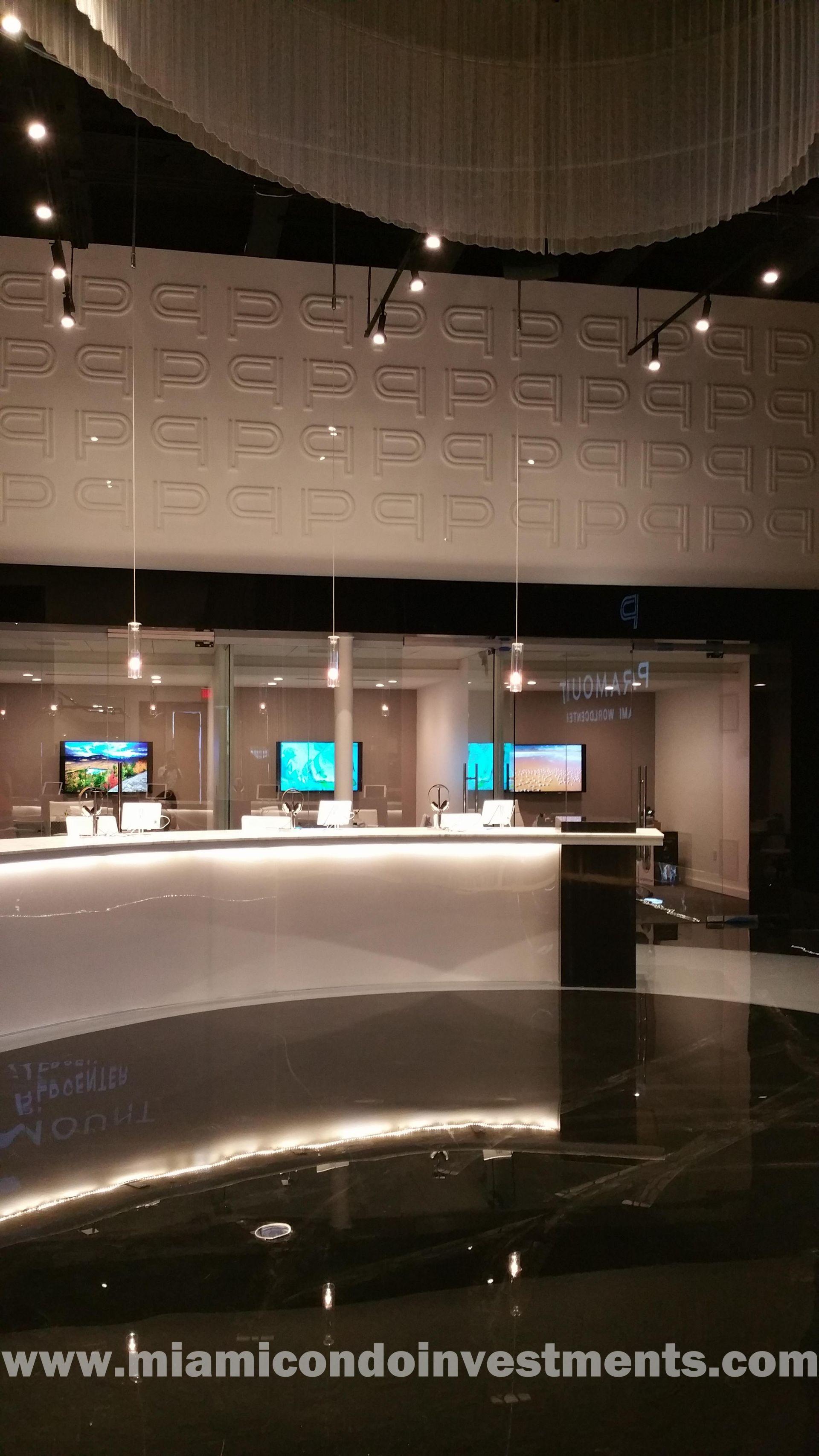 Paramount Miami Worldcenter sales gallery