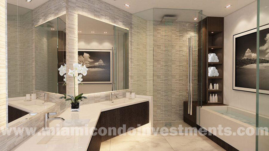 Master Bath for 1 & 2 Bedroom units