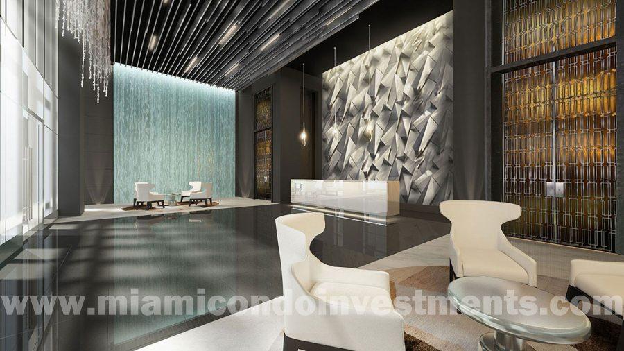 Paramount Miami Worldcenter lobby