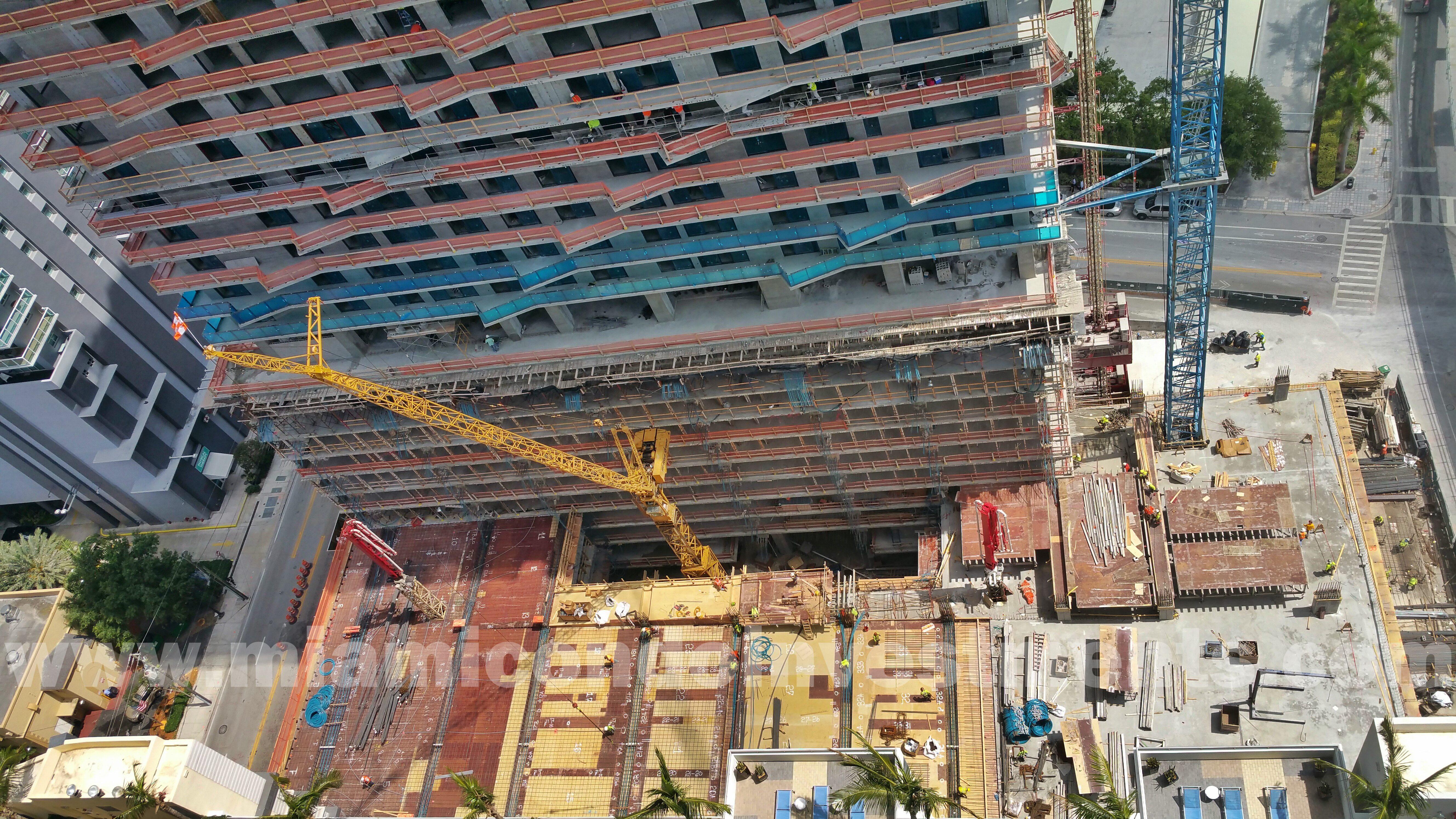 SLS Hotel & Residences pool deck