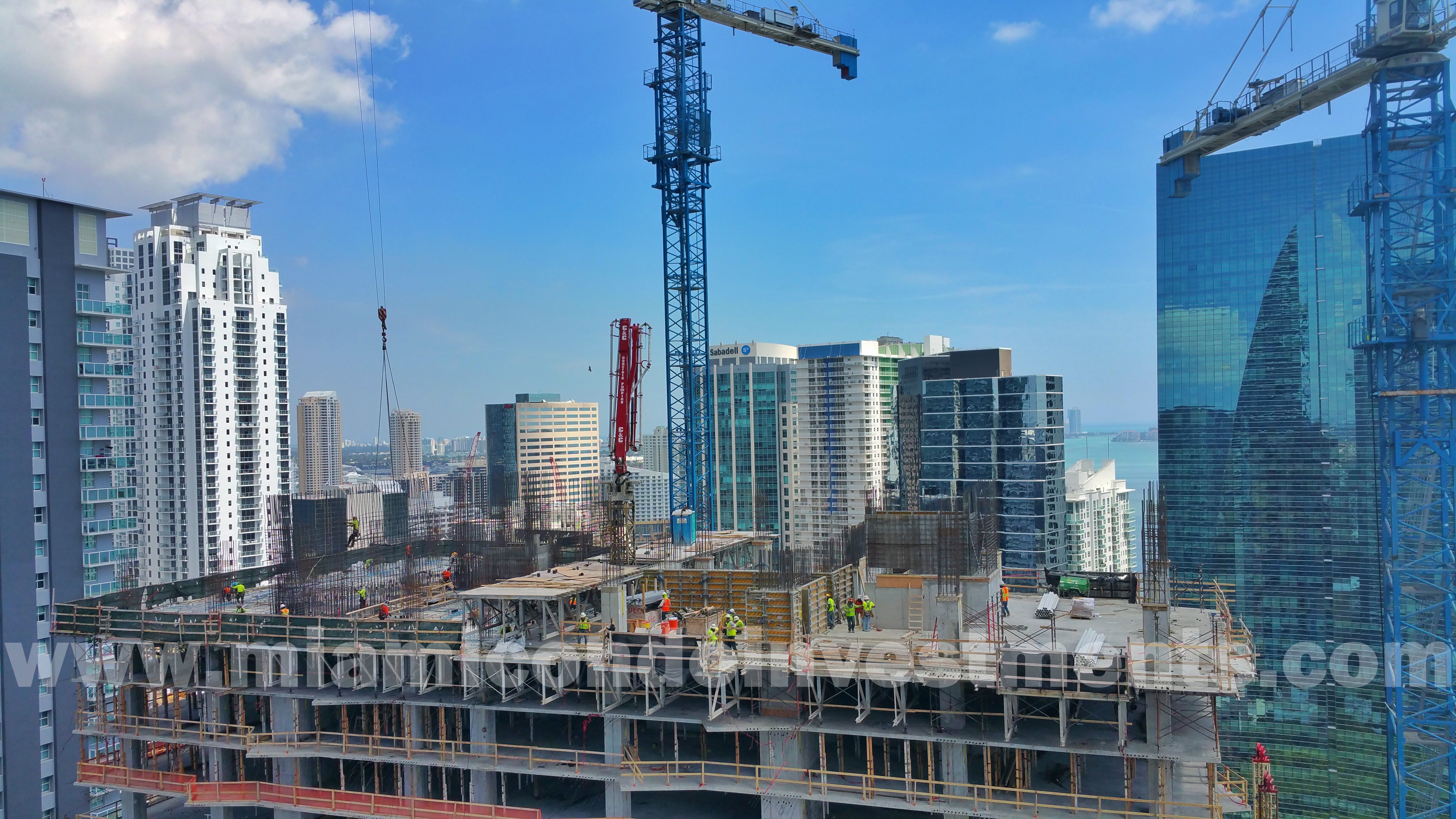 east view from Infinity at Brickell