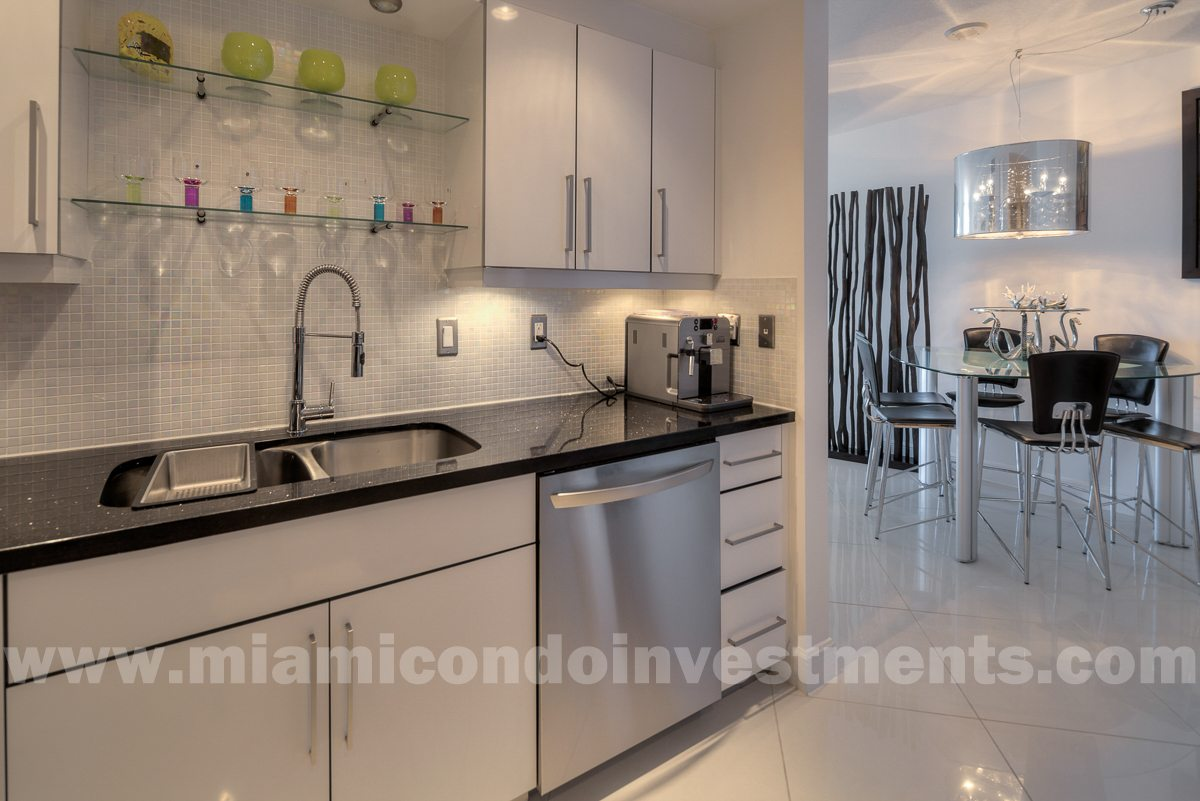Fully renovated kitchen with stainless steel appliances