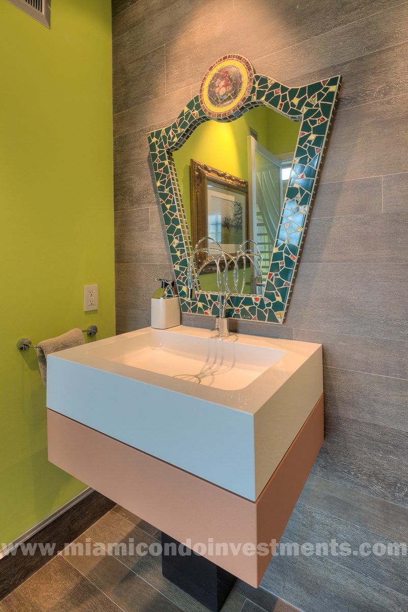 Half Bath - completely renovated and beautifully redesigned