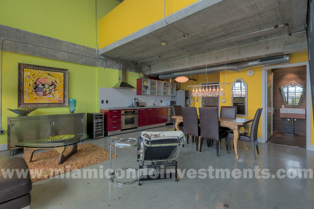 Parc Lofts unit 503 industrial loft