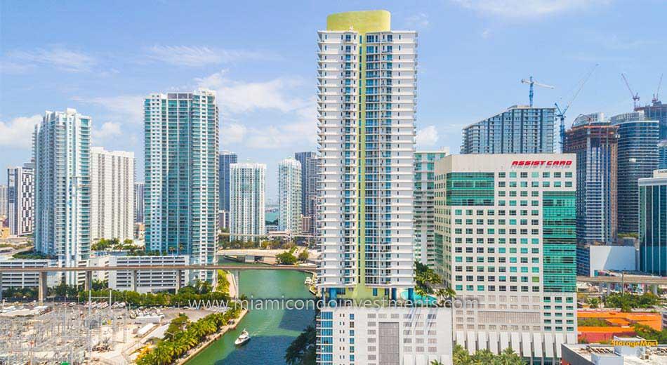 Latitude on the River condos in Miami