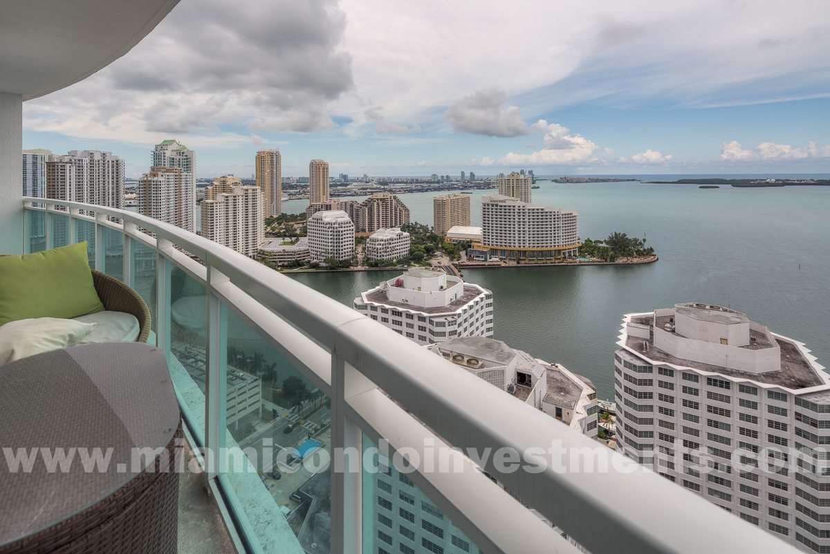 The Plaza on Brickell unit 3211 view