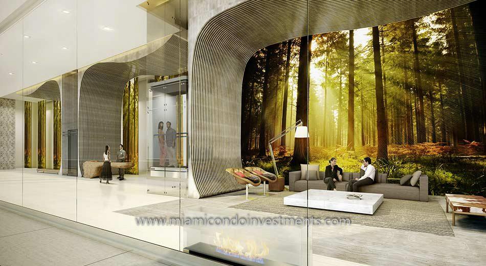 1010 Brickell lobby