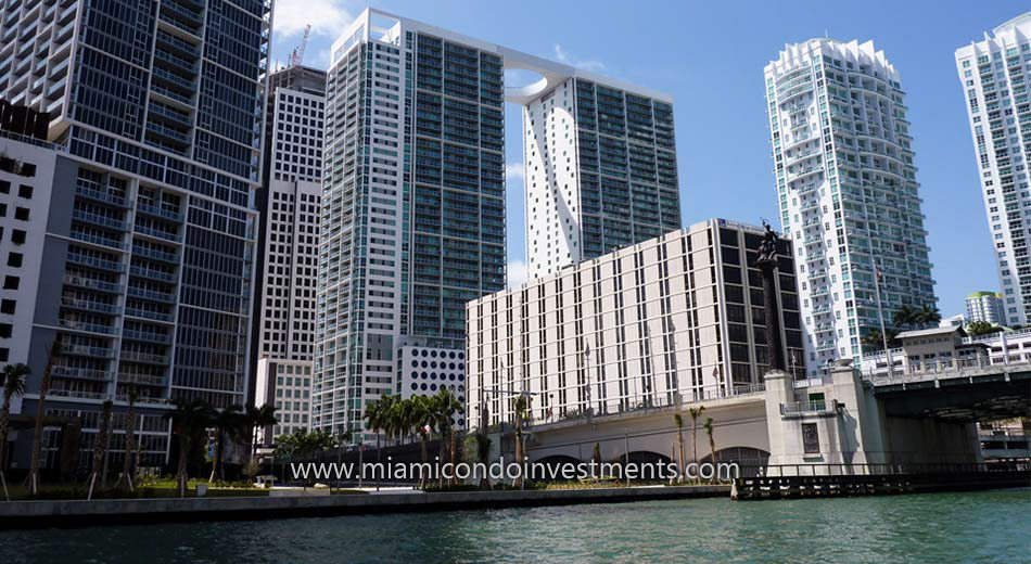 west tower condos at 500 Brickell