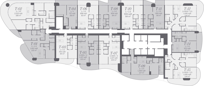 brickell-flatiron-key-plan