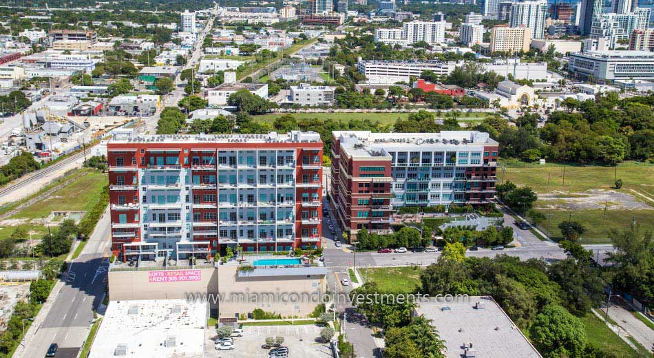 A+E District Miami condos