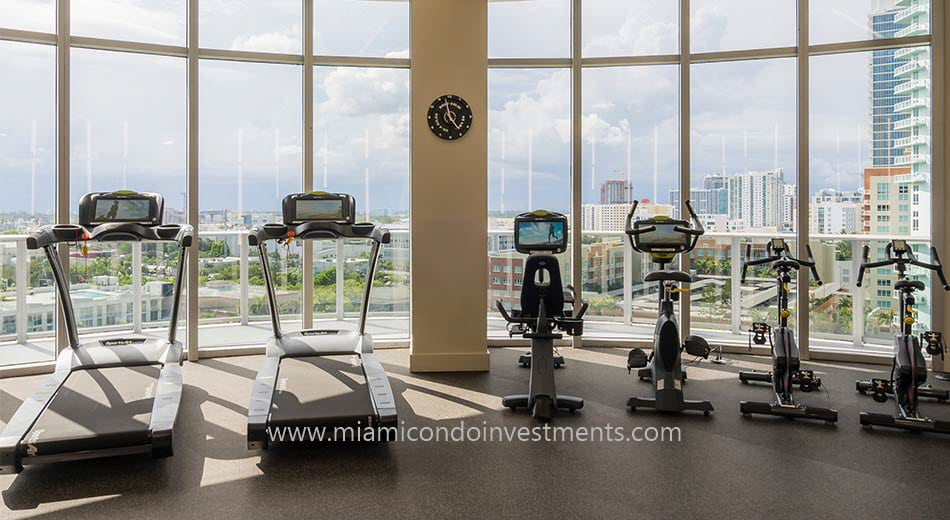 Aria on the Bay fitness center