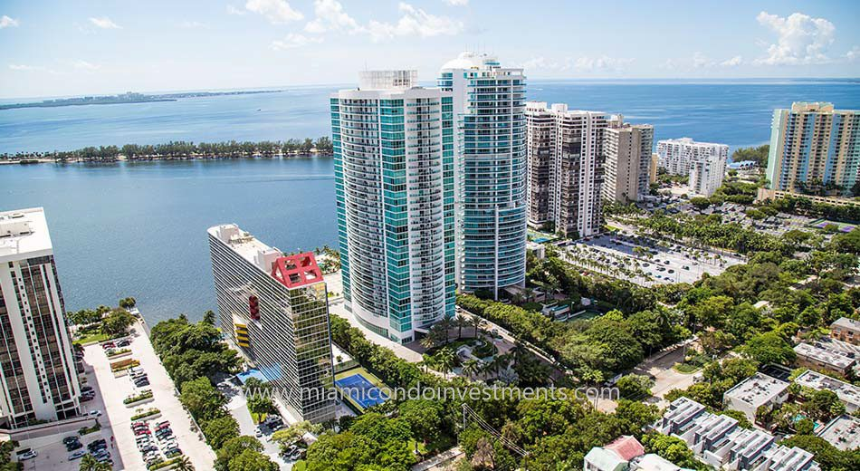 water views from Atlantis on Brickell