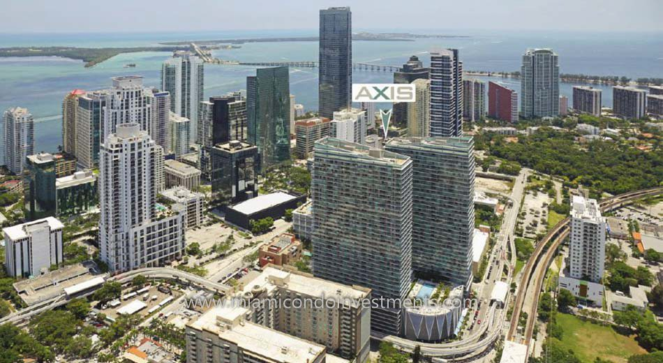 Axis on Brickell north tower