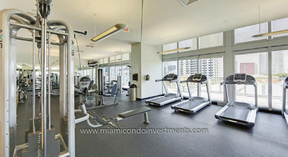 Axis on Brickell fitness center