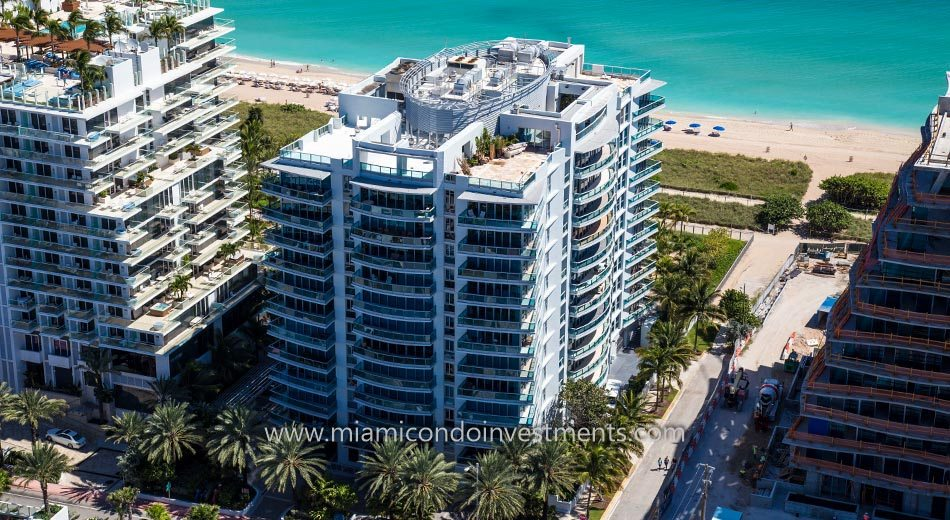 Azure condominiums in Surfside Florida