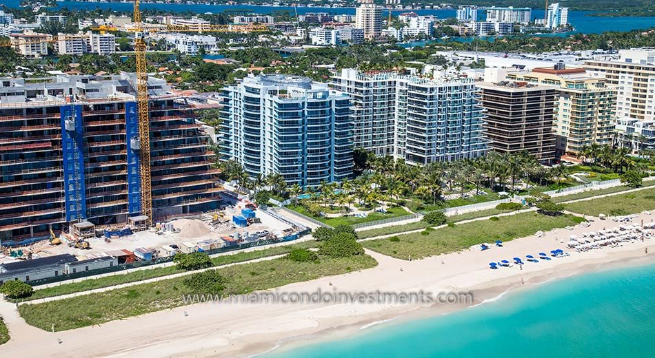 Azure condos in Surfside