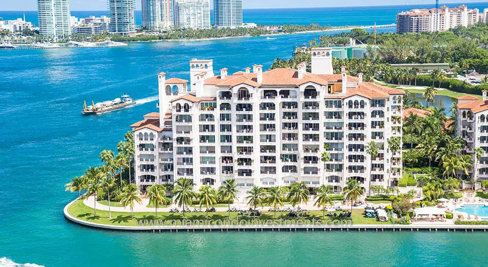 Bayview condos on Fisher Island