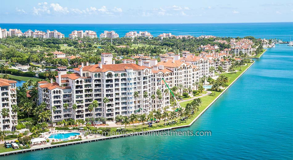 condos at Bayview on Fisher Island