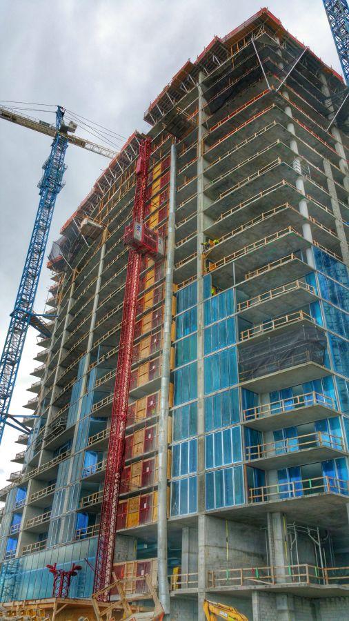 Biscayne Beach condos construction