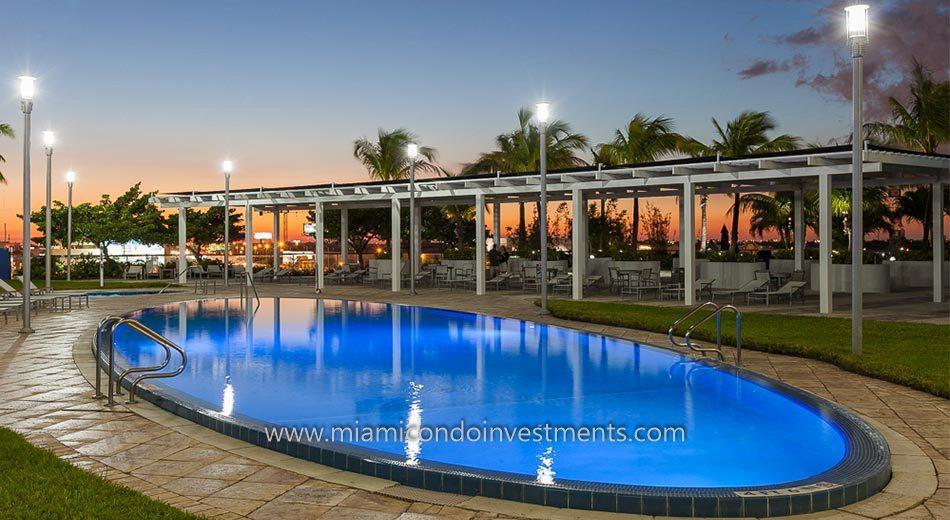 Blue Condominium swimming pool