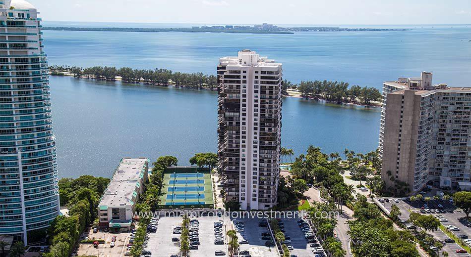 Brickell Bay Club condos in Miami