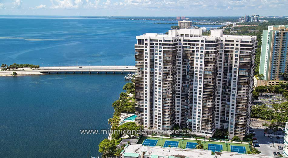 Brickell Bay Club condominiums in Miami Florida