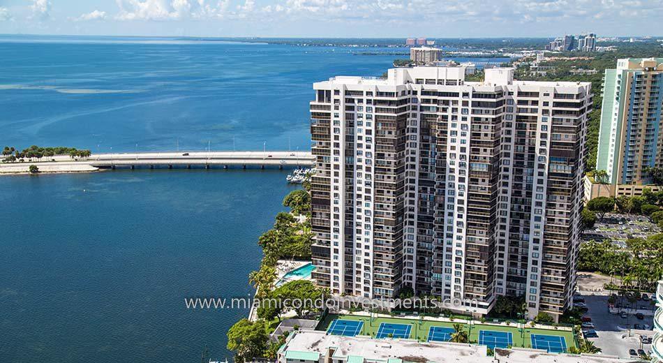 Brickell Bay Club condominiums in Miami Florida