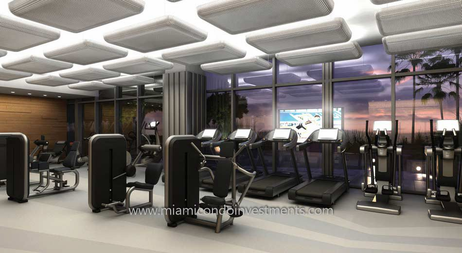 Brickell City Centre Reach fitness center