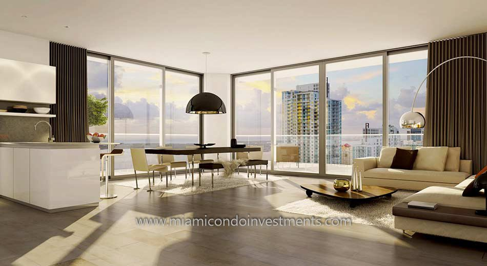 condo residence at Brickell City Centre Reach