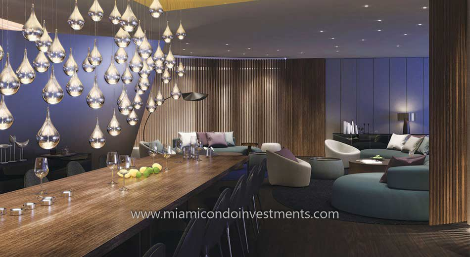 Brickell City Centre Reach club room