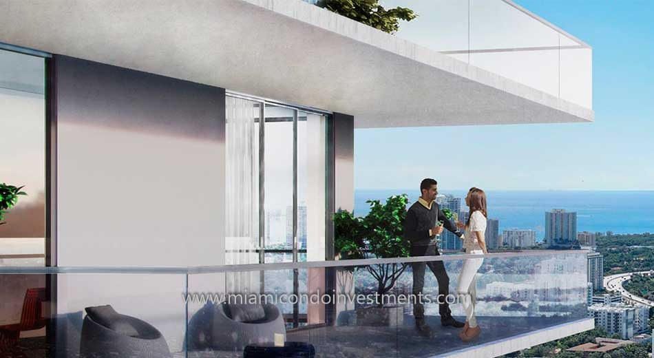 Rise condos at Brickell City Centre