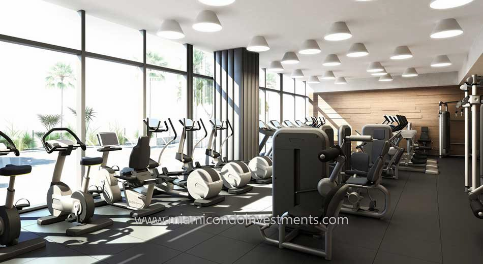 Brickell City Centre Rise fitness center