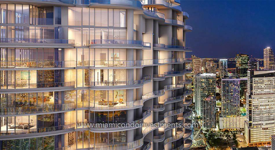 Brickell Flatiron condos in Miami