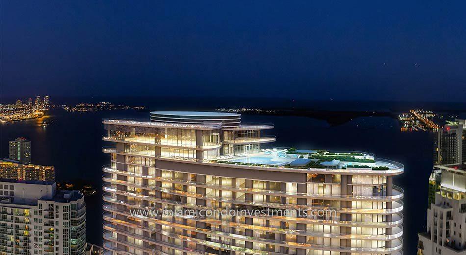 Brickell Flatiron penthouses