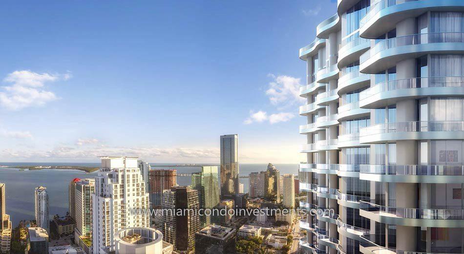 views from Brickell Flatiron