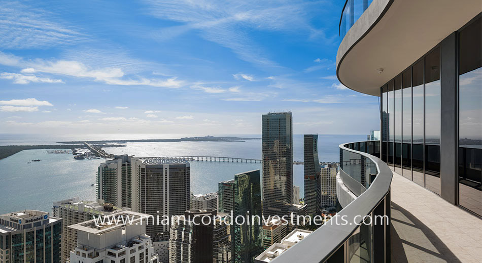 east view from Brickell Flatiron