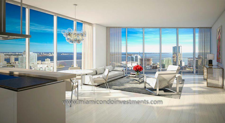 Brickell Flatiron Miami condo