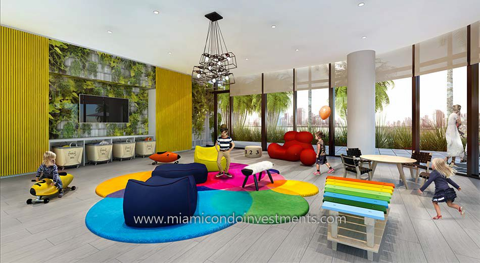 Brickell Heights 02 children's playroom