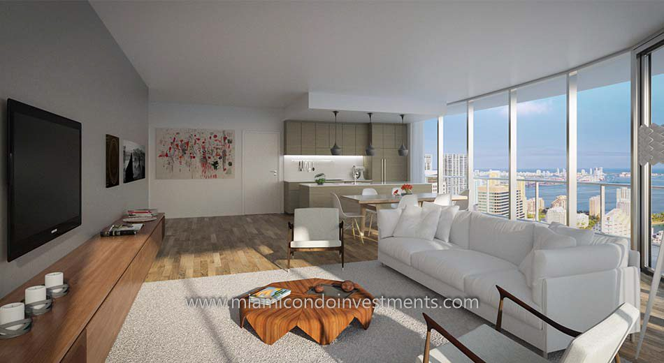 Brickell Heights West condos in Miami
