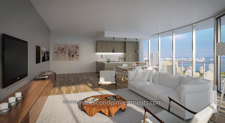 Brickell Heights West condos in Miami