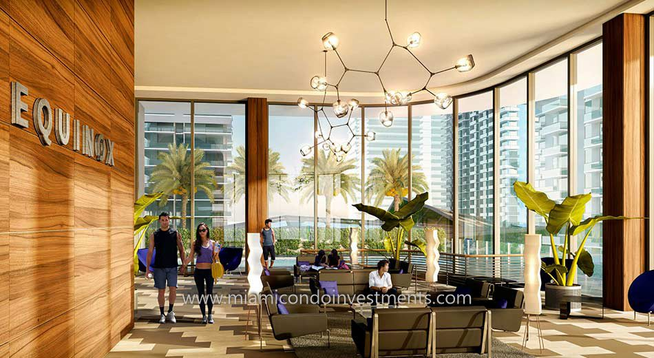 Equinox fitness center at Brickell Heights in Miami