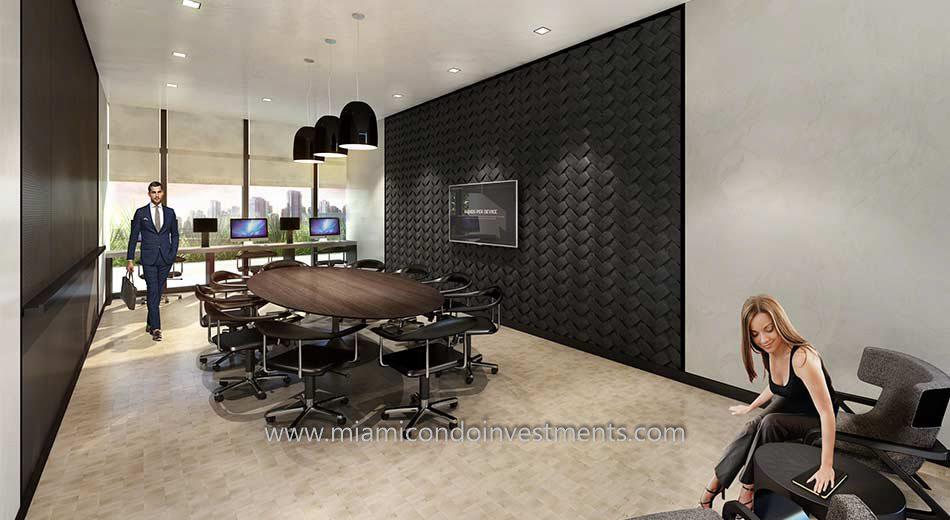 Brickell Heights West business center