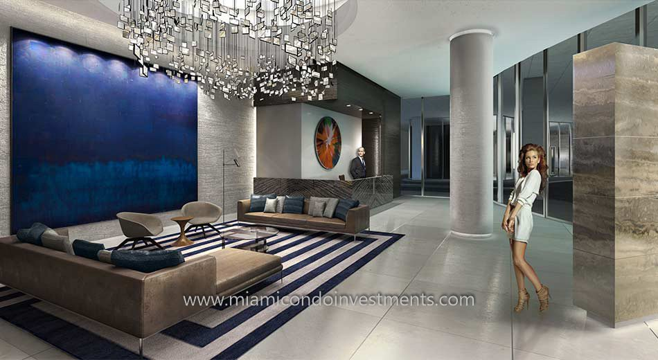 Brickell Heights West lobby