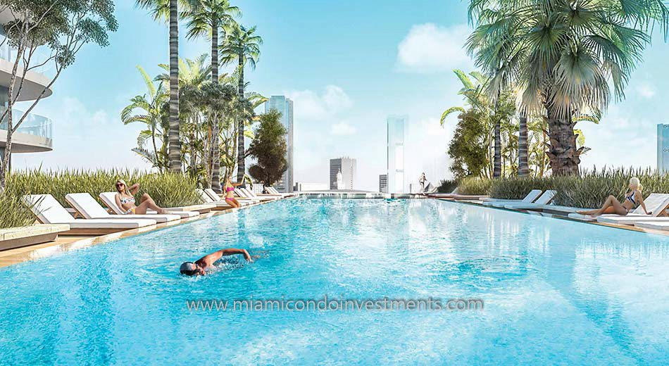 Brickell Heights East pool