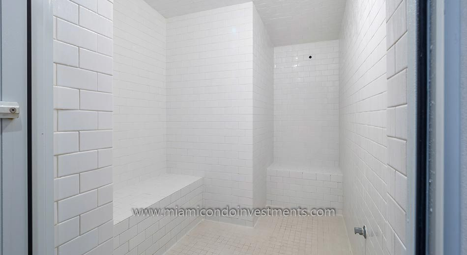BrickellHouse co-ed steam room