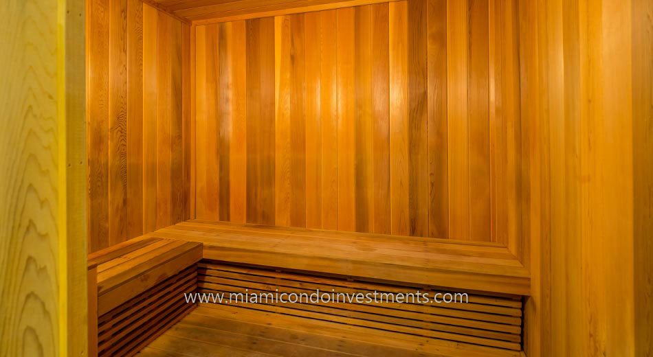 Brickell House co-ed sauna