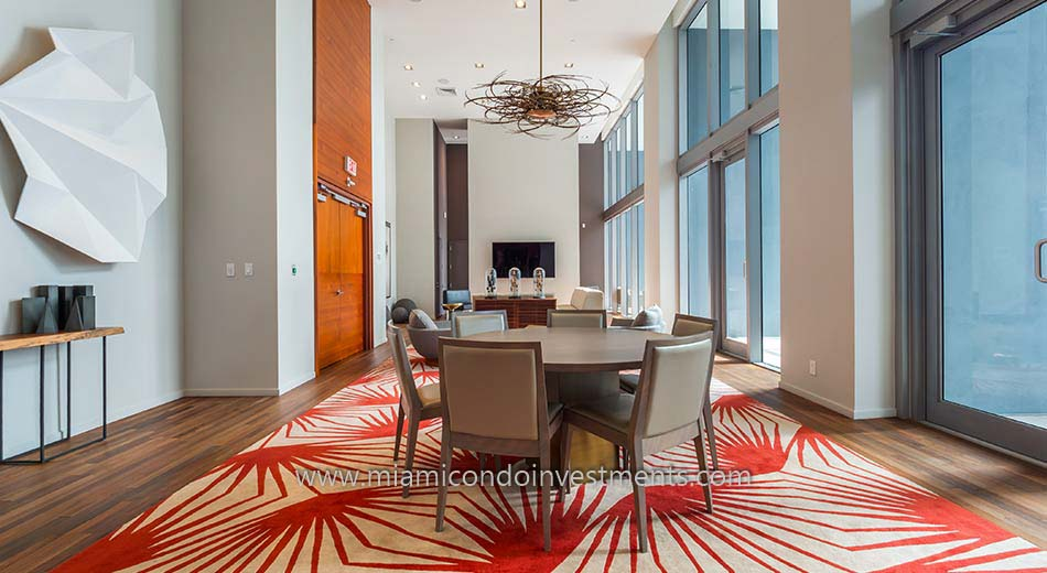 Brickell House club room