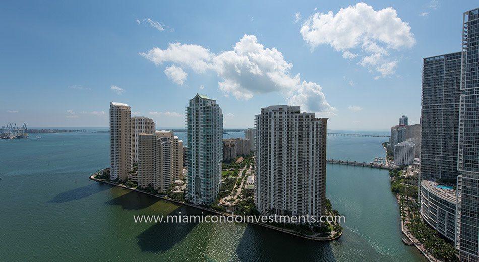 Brickell Key condos in Miami Florida