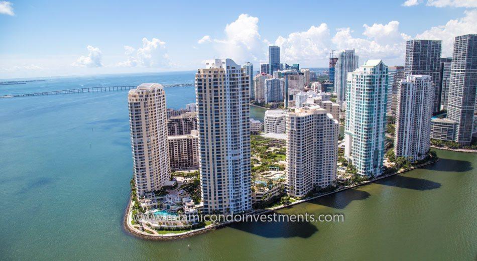 Brickell Key condos in Miami
