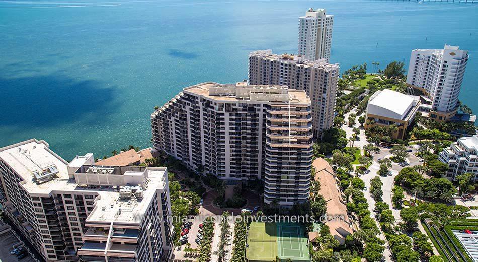 Brickell Key One condos in Miami Florida